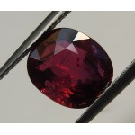 3.06 ct. GRS Certified VIVID RED - NOT HEATED - OVAL SHAPE