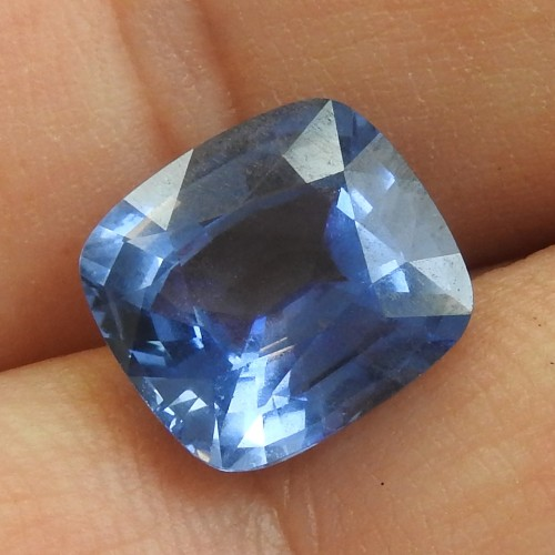 6.04 CT INTENSE BLUE NOT HEATED CEYLON SRI-LANKA SAPPHIRE