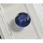 7 mm Round Sapphire, Loose Sapphire, Genuine Sapphire, 1.53 ct, Round Brilliant for Engagement