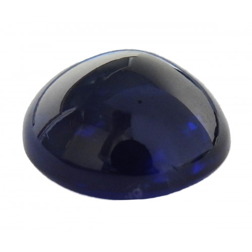 Sapphire Cabochon 14mm Round Oval shaped Certified by GRS 16.06 carat Genuine Sapphire for Gemstone Collectors or Huge Pendant