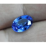 Sapphire Oval Top Quality Extra Fine Royal Blue 3.72 ct Sri Lanka Sapphire Genuine Sapphire for Sapphire Ring Collection Item