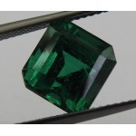 Vivid Green Emerald Top Quality GRS certified loose Gemstone 4.43 ct Zambia Genuine Emerald for Emerald Ring Collection Item